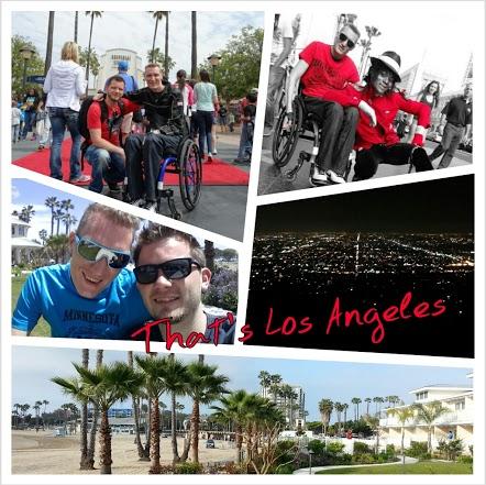 Viele Grüße aus Los Angeles. Danke an Erika Borbély, Nicole Ehmcke, Evelyn Ross, Nadja Bungard und Andrea Rochlitz.Ohne eure Unterstützung hätte ich meine Reise nicht so dokumentieren können! Ich hoffe, euch gefallen meine Videos und meine bisherigen Berichte. Ich hane hier wirklich eine tolle Zeit!