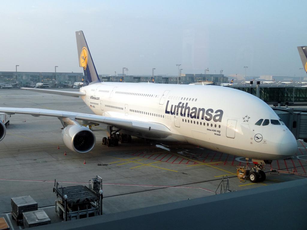 A380 800 nach San Francisco