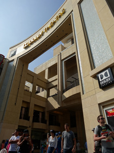 Dolby Theatre am Hollywood Boulevard