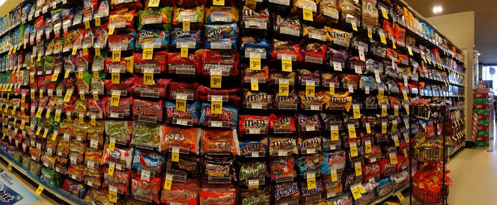 Meterhoch Süßigkeiten