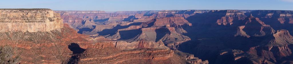 Der Grand Canyon bei Sonnenaufgang
