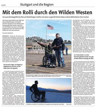 Wir in den Stuttgarter Nachrichten