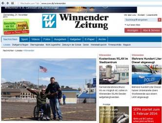 Winnender Zeitung 21.11.13